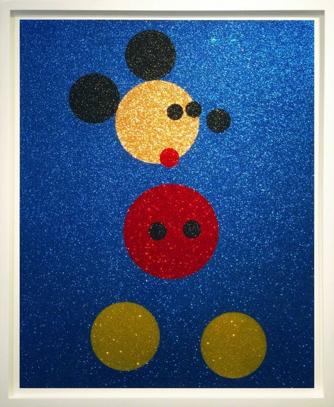 Damien Hirst, 'Mickey (with glitter)', ca. 2016, Print, Screen print with glitter, Arton Contemporary