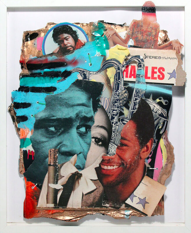 Robert Hodge, 'Soul Food', 2016, Mixed Media, Mixed media on reclaimed paper, Freight + Volume