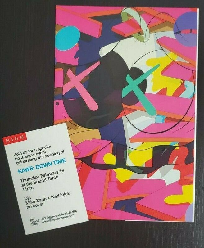 KAWS, 'Downtime at the High Museum of Art Handout (with card)', 2012, Ephemera or Merchandise, Print, Gallery 1890