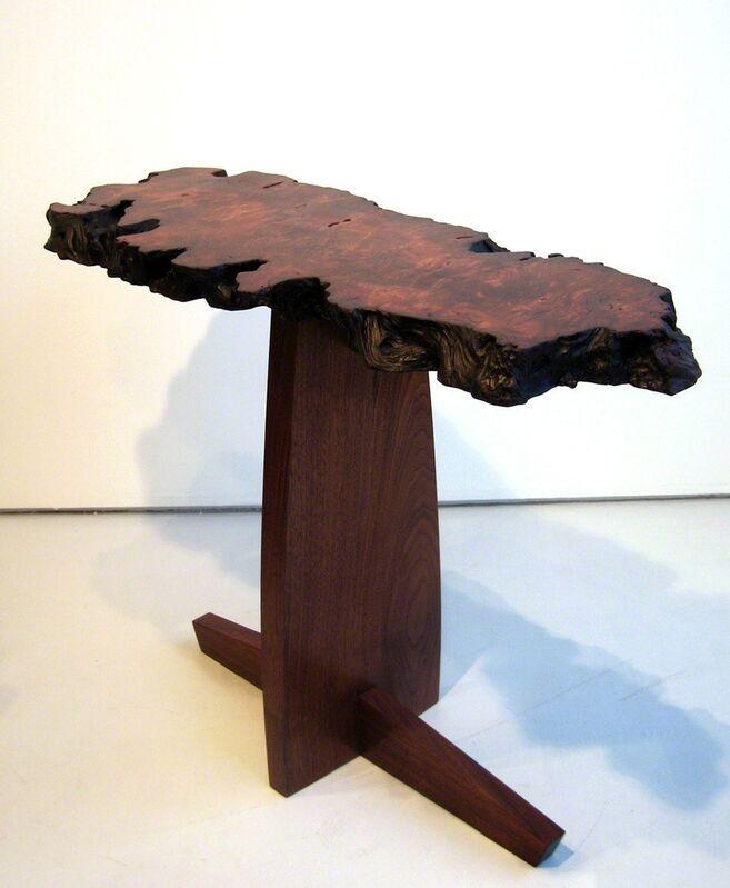Mira Nakashima, 'Console ', 2006, Design/Decorative Art, Redwood with walnut base, Cristina Grajales Gallery