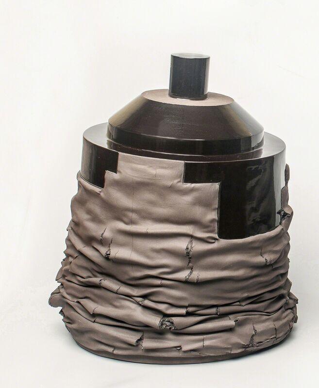 Gregorio Peño, 'Forma Abatida XXII', 2014, Sculpture, Mixed media. Melted clay, slip and glaze., Michel Soskine Inc.