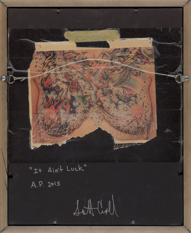 Scott Campbell, 'It Ain't Luck', 2015, Other, $2 bills with cut outs, Heritage Auctions