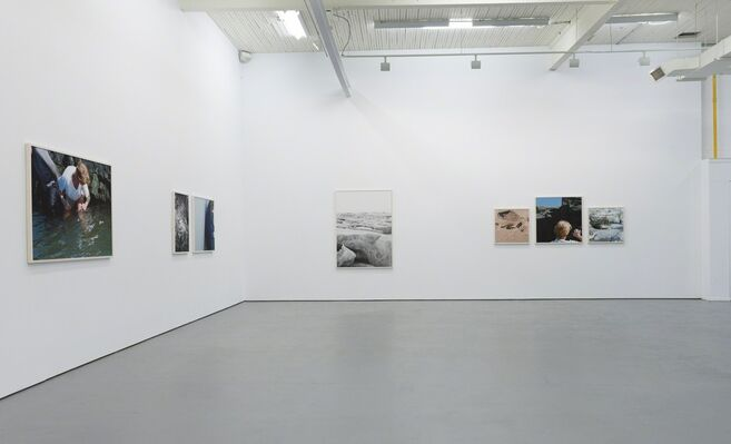 Jacynthe Carrier, brise glace      soleil blanc, installation view