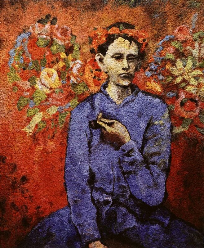 Vik Muniz, 'Boy with Pipe, After Picasso', 2006, Photography, Chromogenic print, Edwynn Houk Gallery