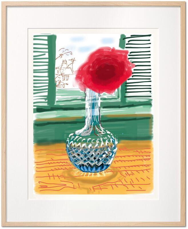 David Hockney, 'My Window, Art Edition (No. 251–500) 'No. 281', 23rd July 2010', 2010, Print, Colour Inkjet Print on Paper, Mr & Mrs Clark's