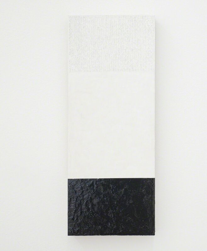 Alan Johnston, 'Untitled', 2014-2015, Painting, Acrylic, pencil, charcoal beeswax and fixative on wood, Bartha Contemporary
