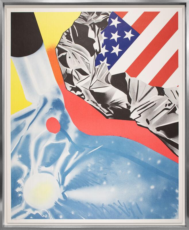 James Rosenquist, 'Flamingo Capsule (Castelli Poster)', 1970, Print, Offset Lithograph, Bailey House Benefit Auction