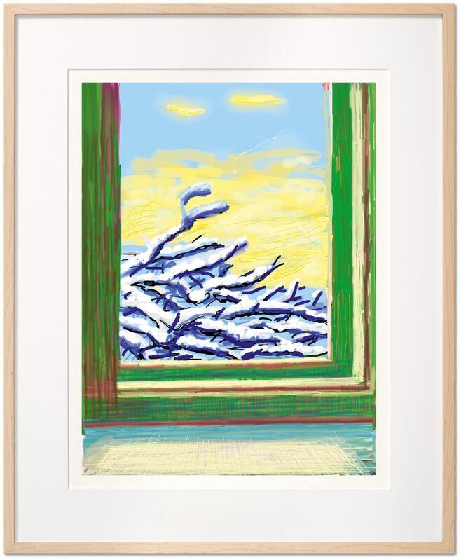 David Hockney, 'iPad drawing 'No. 610', 23rd December 2010', 2020, Print, 8-color inkjet print on cotton-fiber archival paper, Tanya Baxter Contemporary