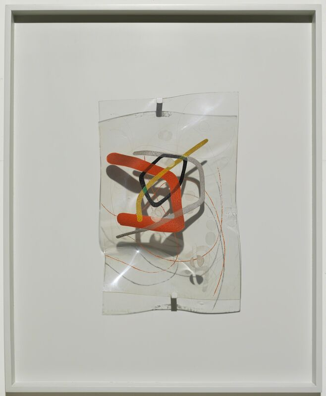 László Moholy-Nagy, 'B-10 Space Modulator', 1942, Mixed Media, Oil and incised lines on Plexiglas, in original frame, Guggenheim Museum
