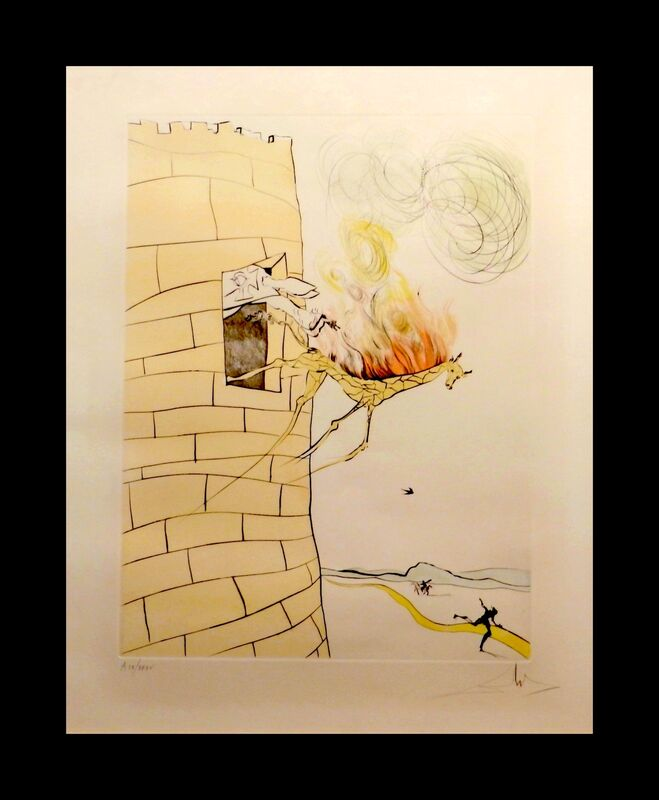 Salvador Dalí, 'After 50 Years Of Surrealism The Grand Inquisitor ', 1974, Print, Etching, Fine Art Acquisitions Dali