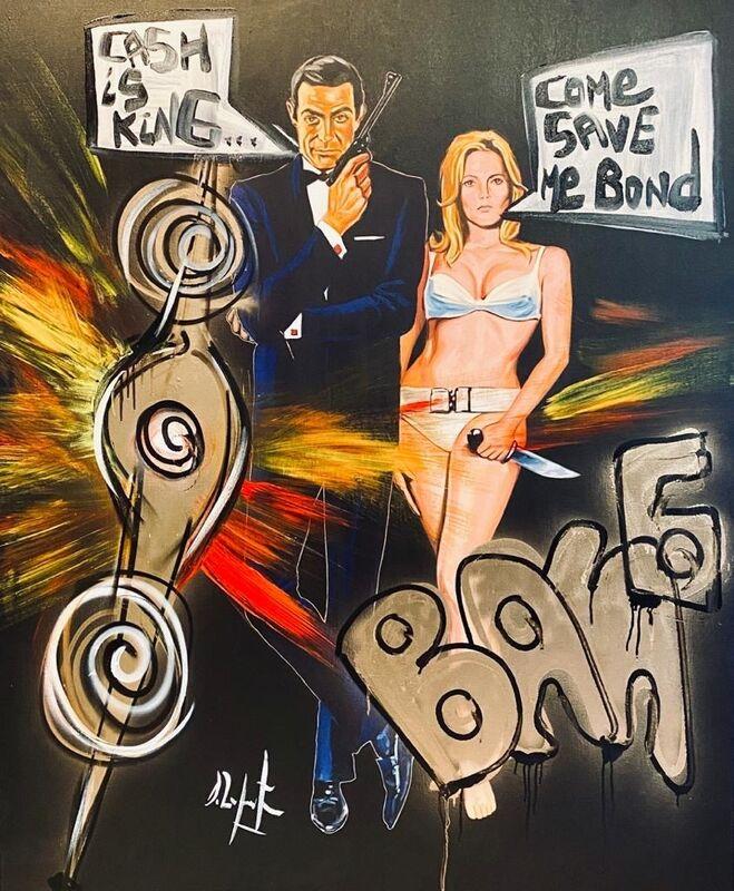 Domingo Zapata, '007 in LA', 2020, Painting, Acrylic on canvas, Mash Gallery