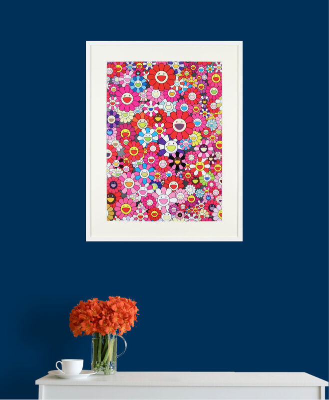 Takashi Murakami, 'An Homage to Monopink 1960 C', 2012, Print, Offset lithograph In Colour on Smooth Wove Paper., Gormleys Fine Art