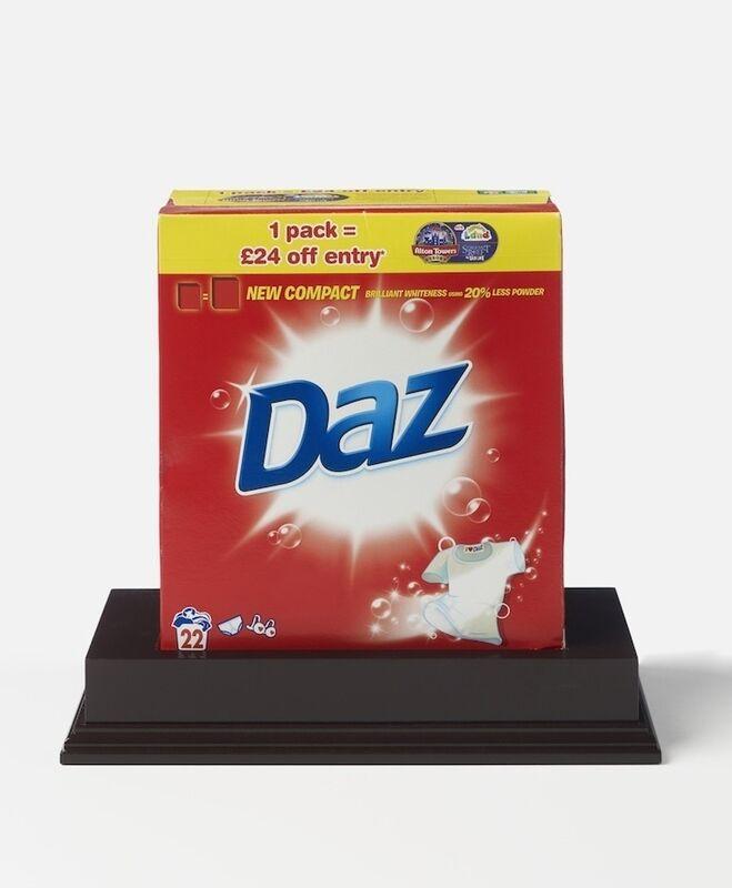 Damien Hirst, 'Daz', 2014, Sculpture, Laundry detergent with box, wooden plinth, Artificial Gallery