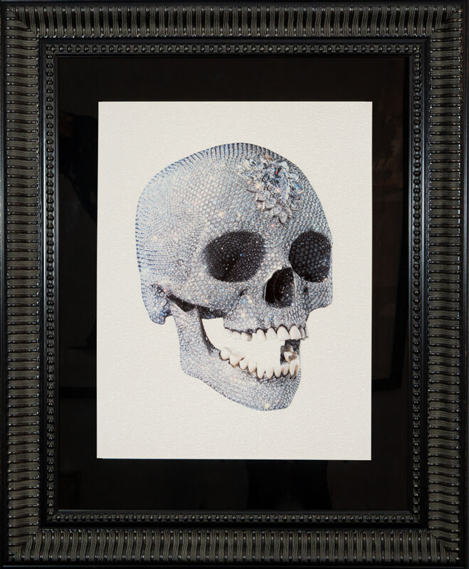 Damien Hirst, 'For The Love Of God 3/4', 2011, Print, Silkscreen with Diamond Dust. Conservation Framed., The Drang Gallery