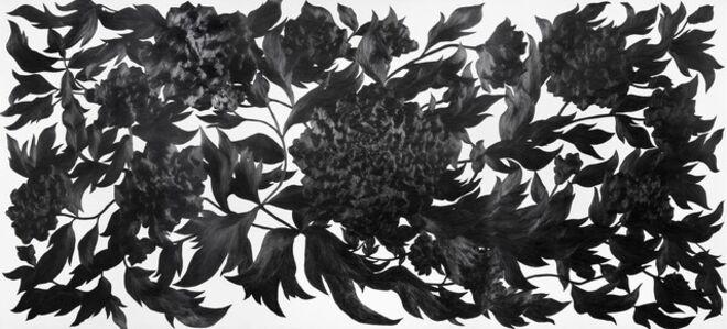 Kim Eunju, 'Then I quietly draw a flower', 2011