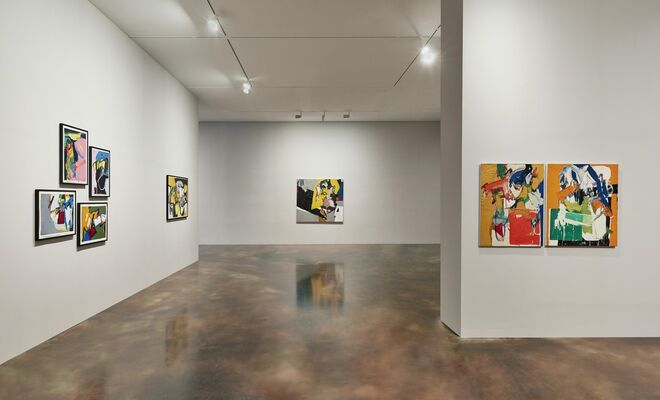 Wook-kyung Choi: American Years 1960s-1970s, installation view