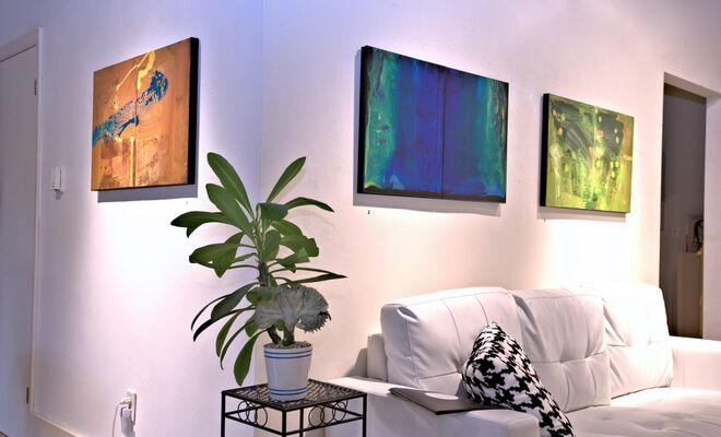 SCHEHERAZADE- new paintings by ANTONIO ALVAREZ, installation view