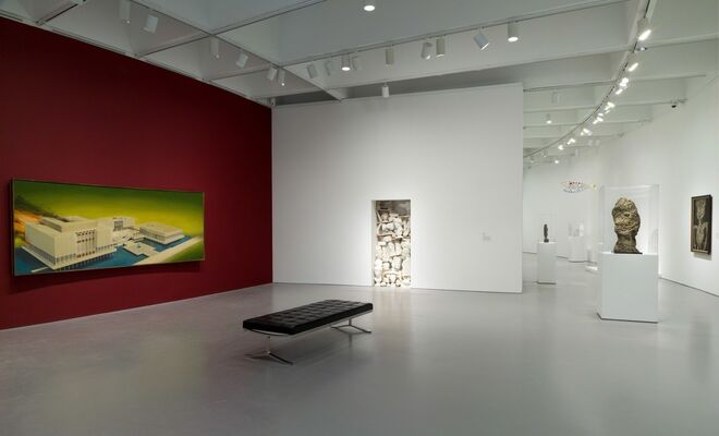 Masterworks from the Hirshhorn Collection, installation view