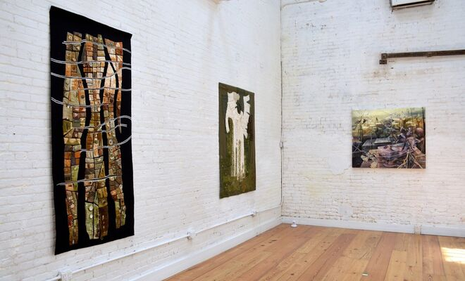 The Soiled Garden, installation view