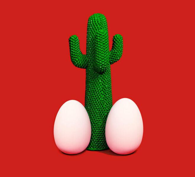 Maurizio Cattelan, 'Cactus God', 2013