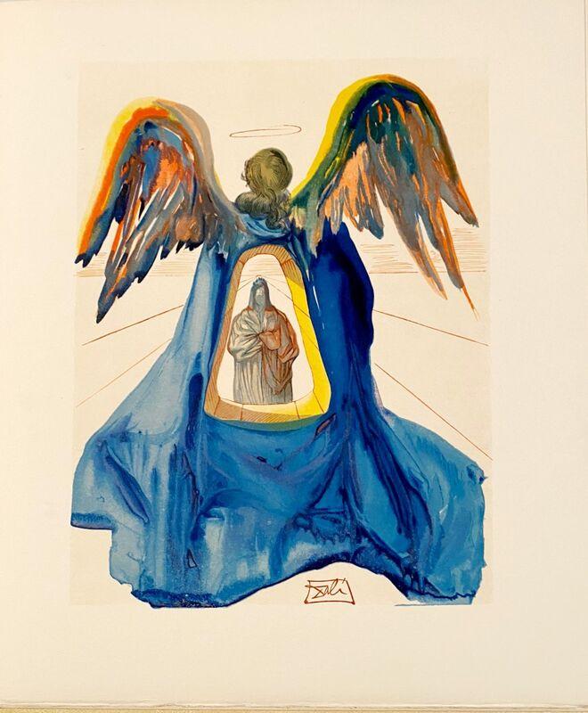 Salvador Dalí, 'La Divine Comédie - Purgatoire 33 - Dante purifié', 1963, Print, Original wood engraving on BFK Rives paper, Samhart Gallery
