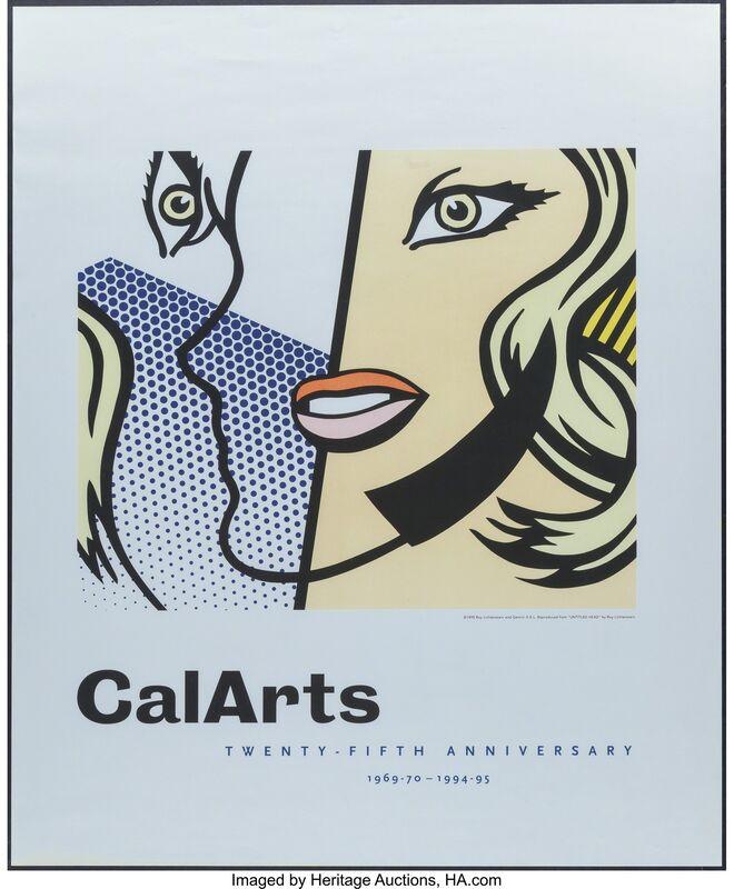 Roy Lichtenstein, 'CalArts Twenty-Firth Anniversary 1969-70', 1995, Print, Offset print in colors, Heritage Auctions