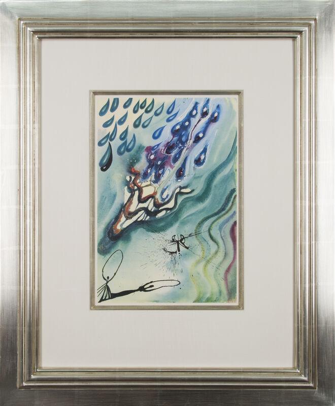 Salvador Dalí, 'Alice's Adventures in Wonderland: The Pool of Tears', 1969, Print, Heliogravure in colors on Mandeure rag paper, Galerie Michael