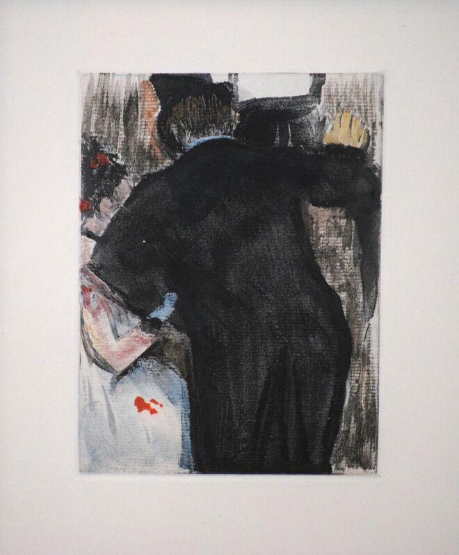 Edgar Degas, 'The Admirer', 1938-1939, Print, Etching, Contessa Gallery