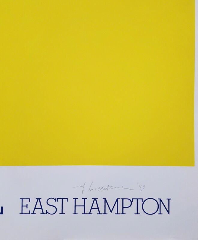 Roy Lichtenstein, 'Guild Hall East Hampton', 1980, Print, Screenprint, Poster, Graves International Art