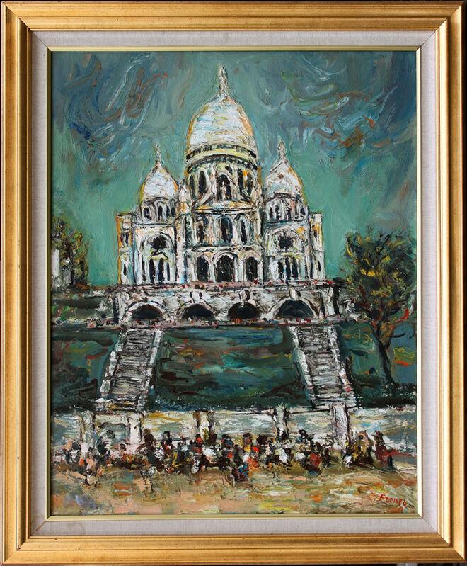 Itzhak Frenkel-Frenel, 'Sacré-Coeur', 20th Century, Painting, Oil on canvas, Stern Pissarro Gallery