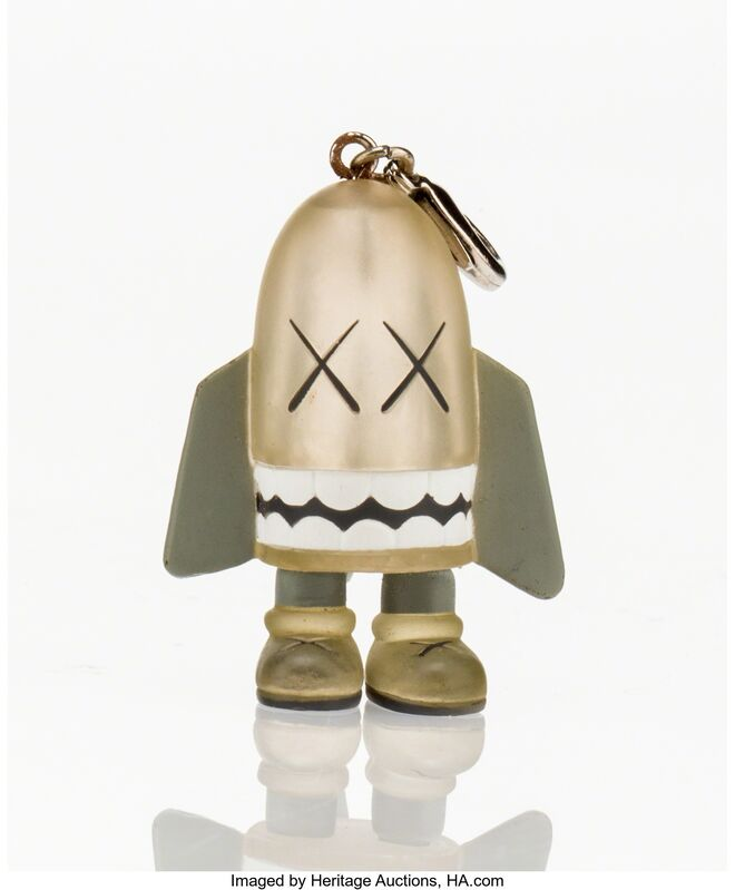 KAWS, 'Blitz Keychain (Grey)', 2011, Other, Painted cast vinyl, Heritage Auctions