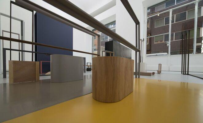 Nahum Tevet, installation view