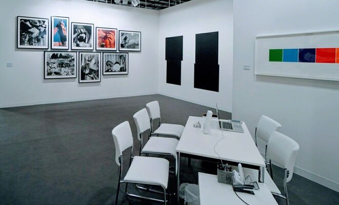 Gemini G.E.L. at Art Basel 2017, installation view
