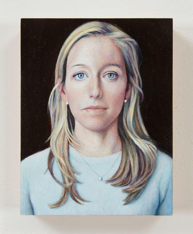 Jim Torok, 'Alexa Wesner', 2014-2015, Painting, Oil on panel, Lora Reynolds Gallery
