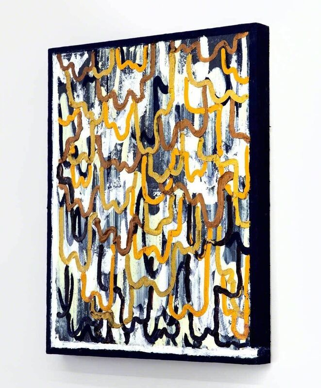 Easton Miller, 'It's So Much', 2015, Painting, Oil, flocking on birch panel, River