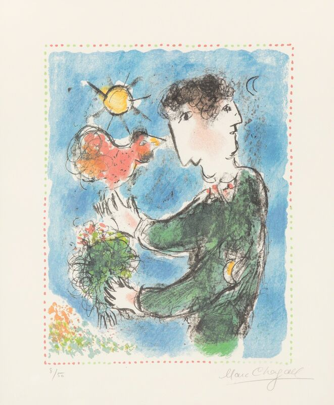 Marc Chagall, 'Day Break', 1983, Print, Lithograph in colors, Heritage Auctions