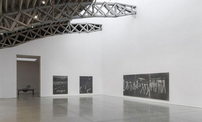 Silke Otto-Knapp: Monotones, installation view