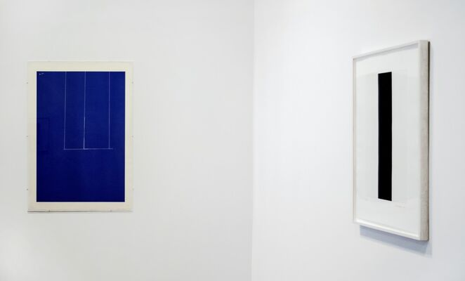 Something Rather Than Nothing: Barnett Newman, Donald Judd and Robert Motherwell, installation view