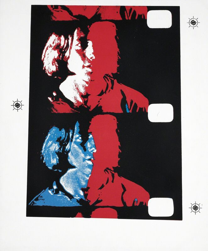 Andy Warhol, 'Eric Emerson, 1982 (#287, Chelsea Girls)', 1982, Print, Unique screenprint, Martin Lawrence Galleries