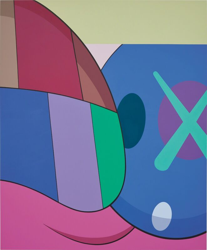 KAWS, 'Untitled (Color)', 2015, Painting, Acrylic on canvas, Phillips