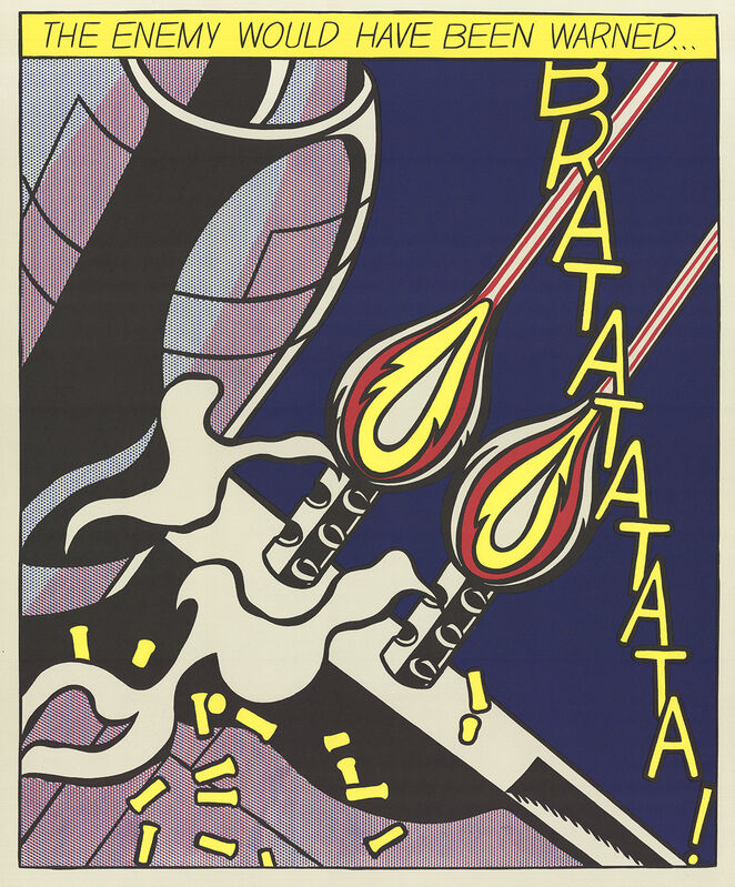 Roy Lichtenstein, 'The Enemy Would Have Been Warned (Panel 2)', 1964, Posters, Offset Lithograph, ArtWise