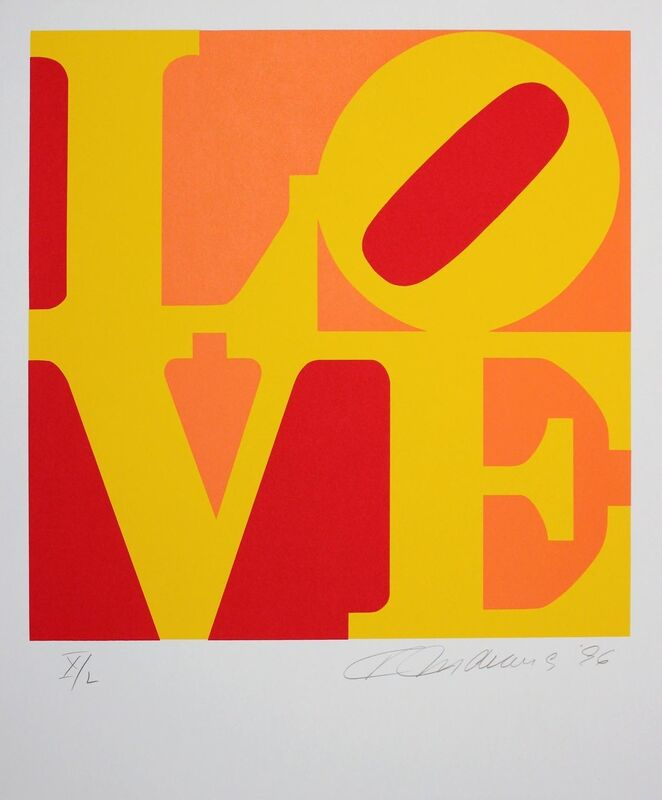 Robert Indiana, 'Book Of Love', 1996, Print, Complete set of 12 screenprints on A.N.W. Crestwood Museum Edition paper, Gormleys Fine Art