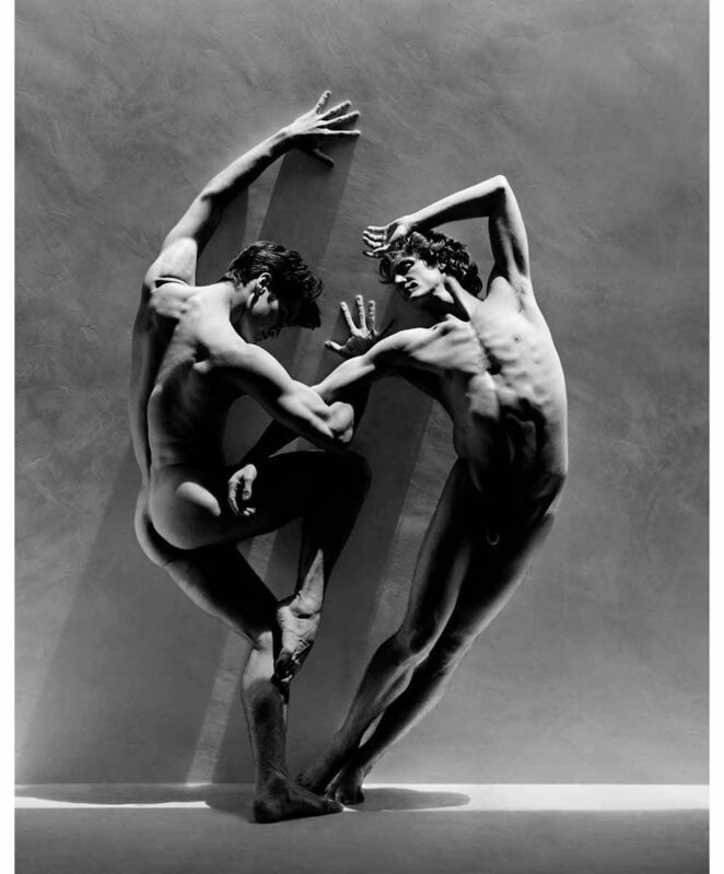 Greg Gorman, 'Rex and Gregory', 2003, Photography, Gum-over-platinum prints, 21st Editions, The Art of the Book
