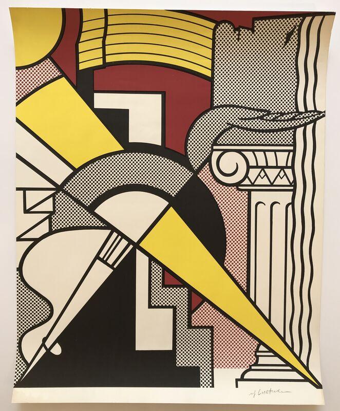 Roy Lichtenstein, 'Stedelijk Museum', 1967, Print, Offset Lithograph, Denis Bloch Fine Art