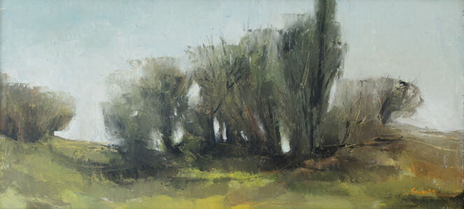 Joan Savo, 'Landscape', ca. 1959