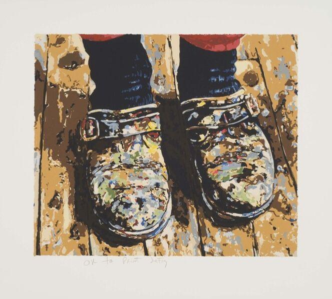 Joe Fig, 'Inka's Shoes', 2007