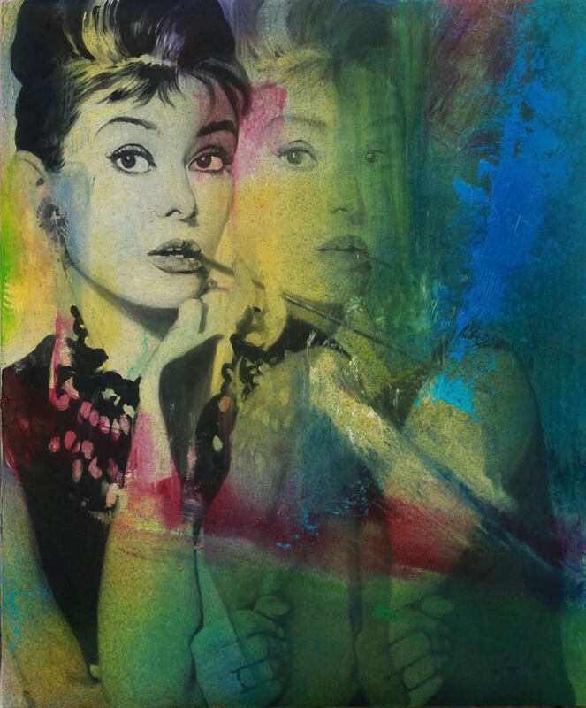 Angel Peychinov, 'Breakfast at Tiffany's', 2018, Painting, Oil on canvas, Galerie Barbara von Stechow