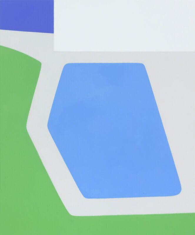 Ridley Howard, 'Angled Pool', 2013, Painting, Oil on linen, Andréhn-Schiptjenko