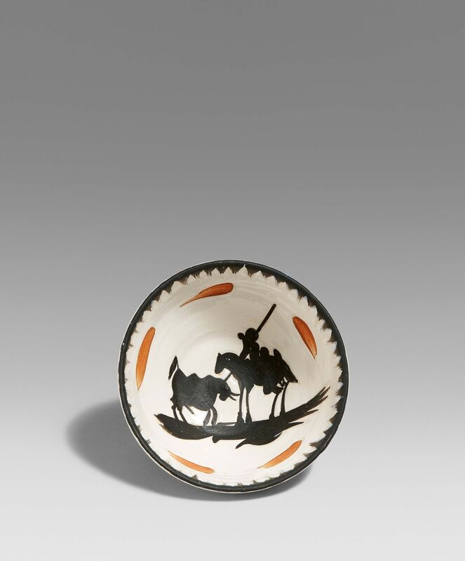 Pablo Picasso, 'Picador', 1955, Design/Decorative Art, White earthenware clay, partially polychromed and galzed, Van Ham