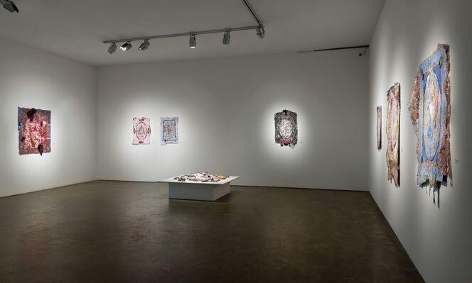 Lina Puerta: Tapestries, installation view